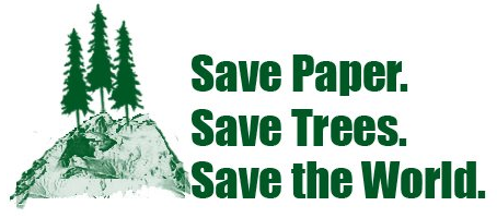article on save paper