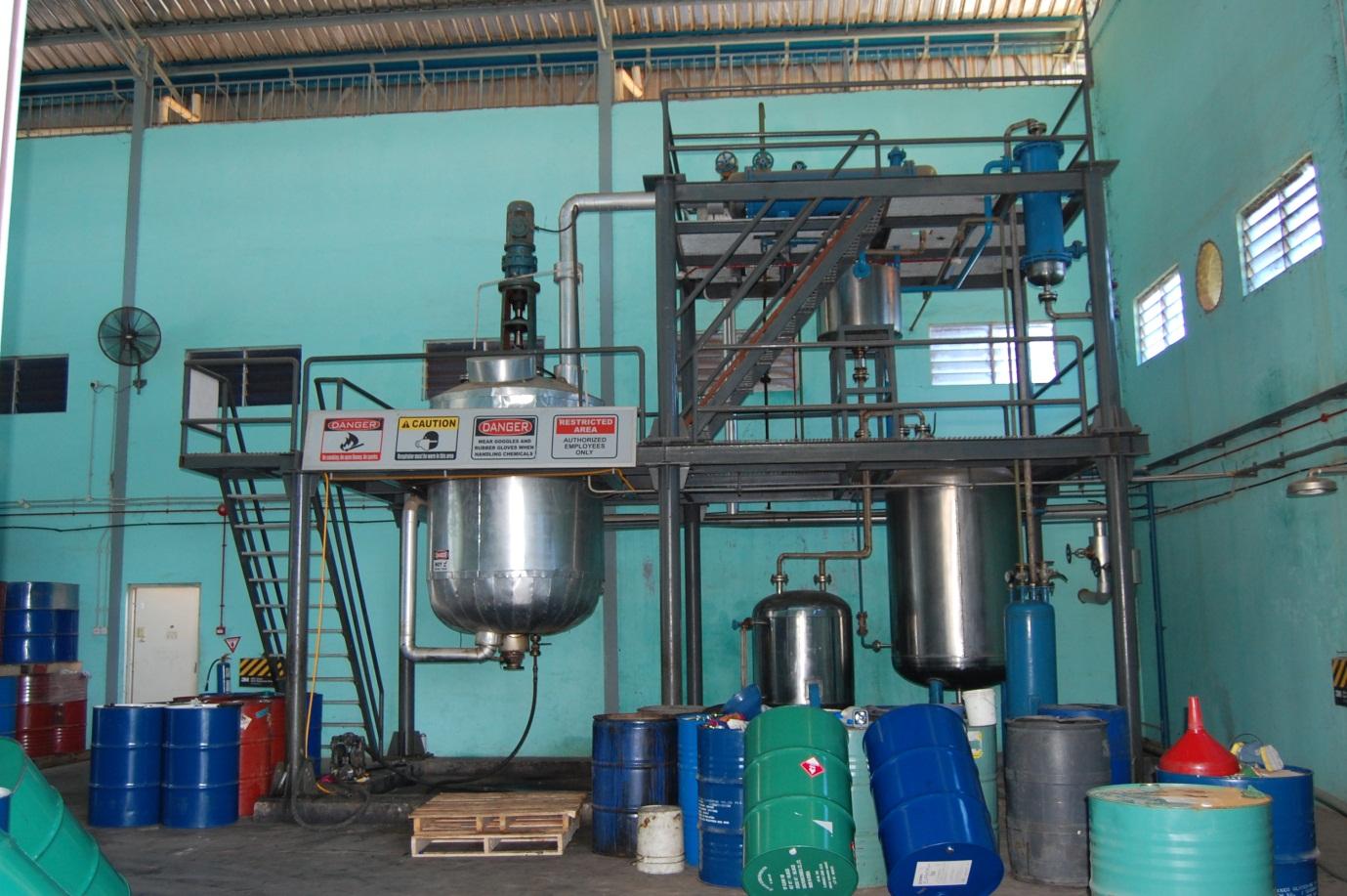 Mesin Destilasi Solvent Bekas